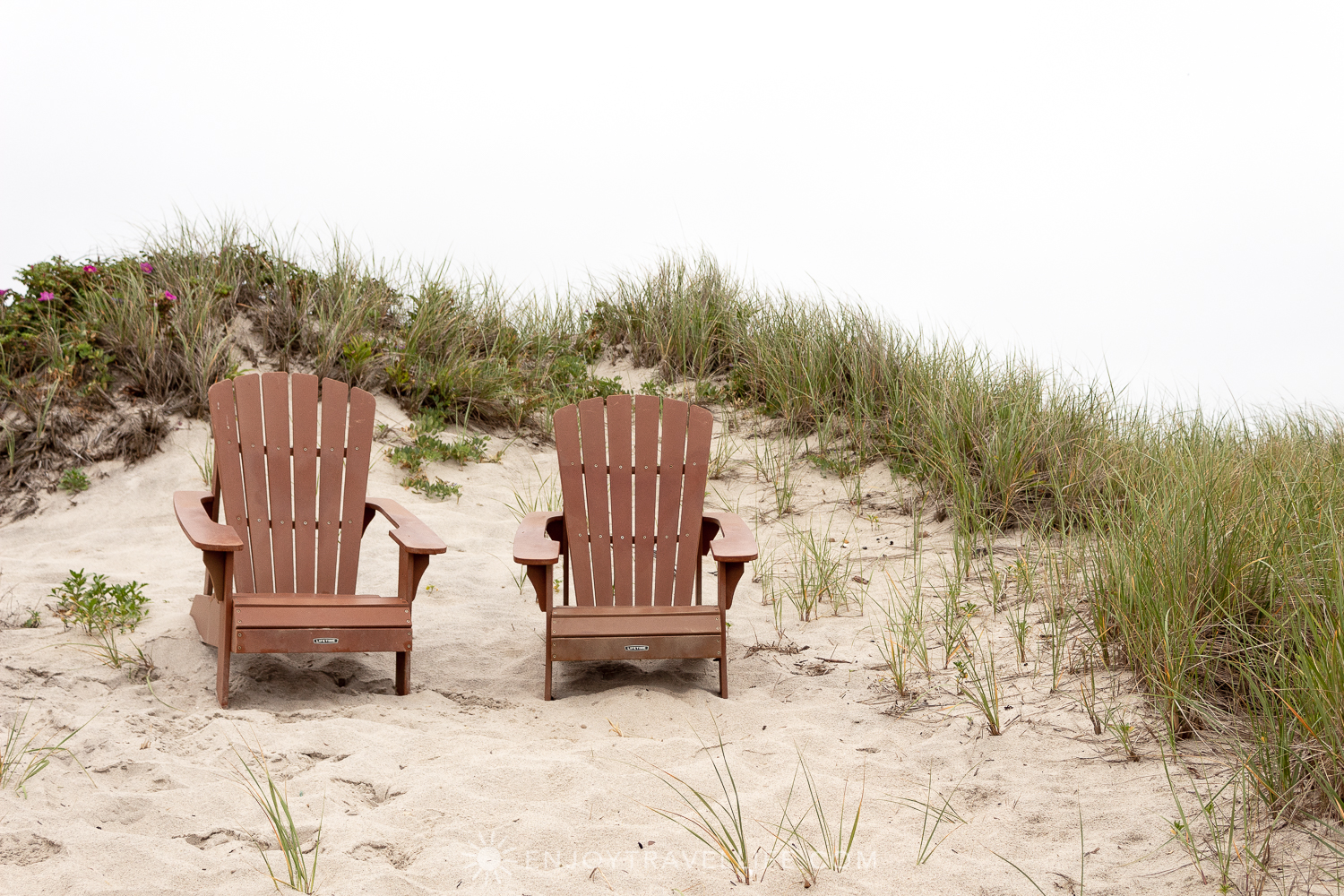 Waterfront Weekend in Chatham - Chatham Tides Inn Adirondack Chairs