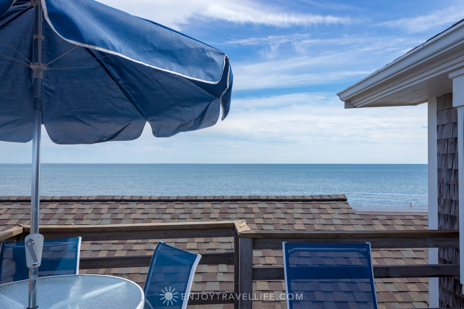 Waterfront Weekend in Chatham - Chatham Tides Inn Sun Deck