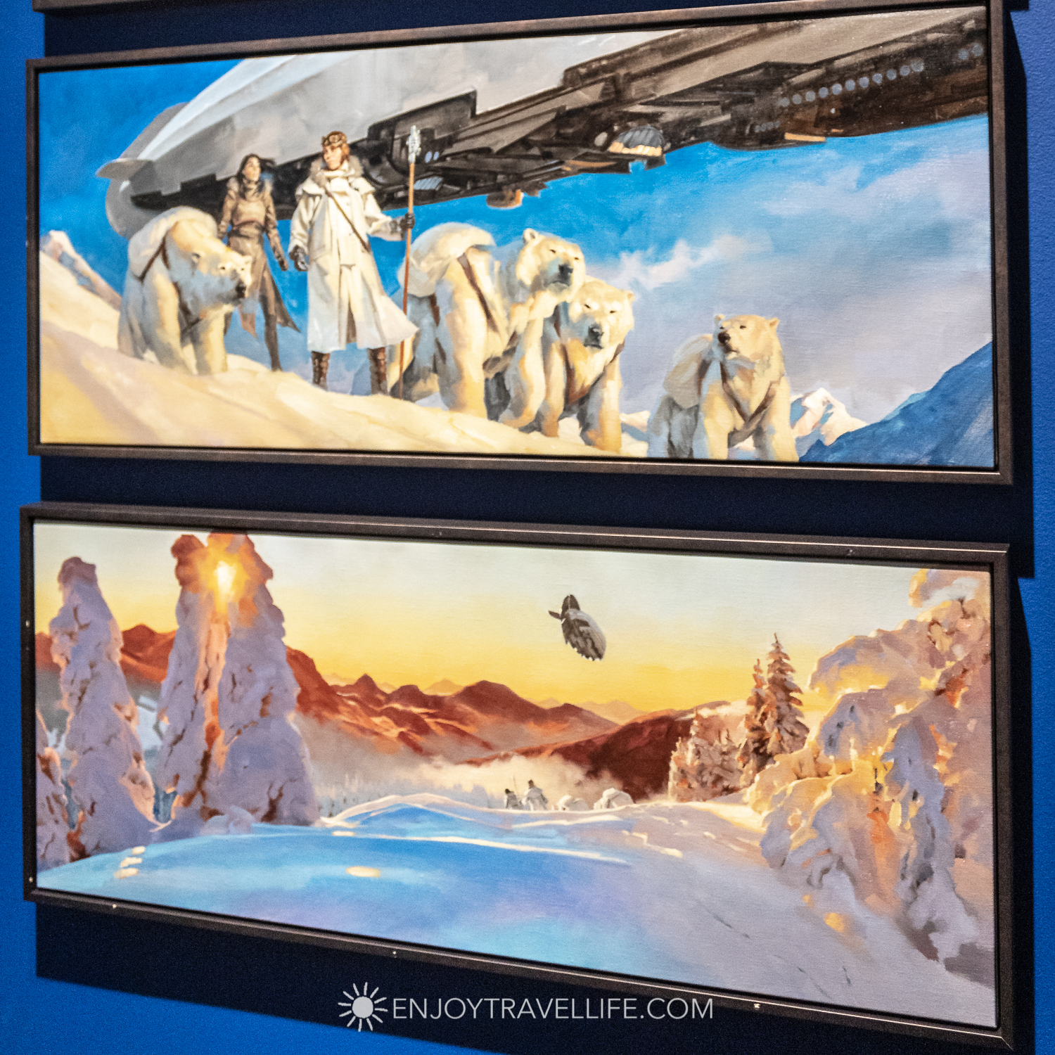 Gregory Manchess Under the Timberline Paintings