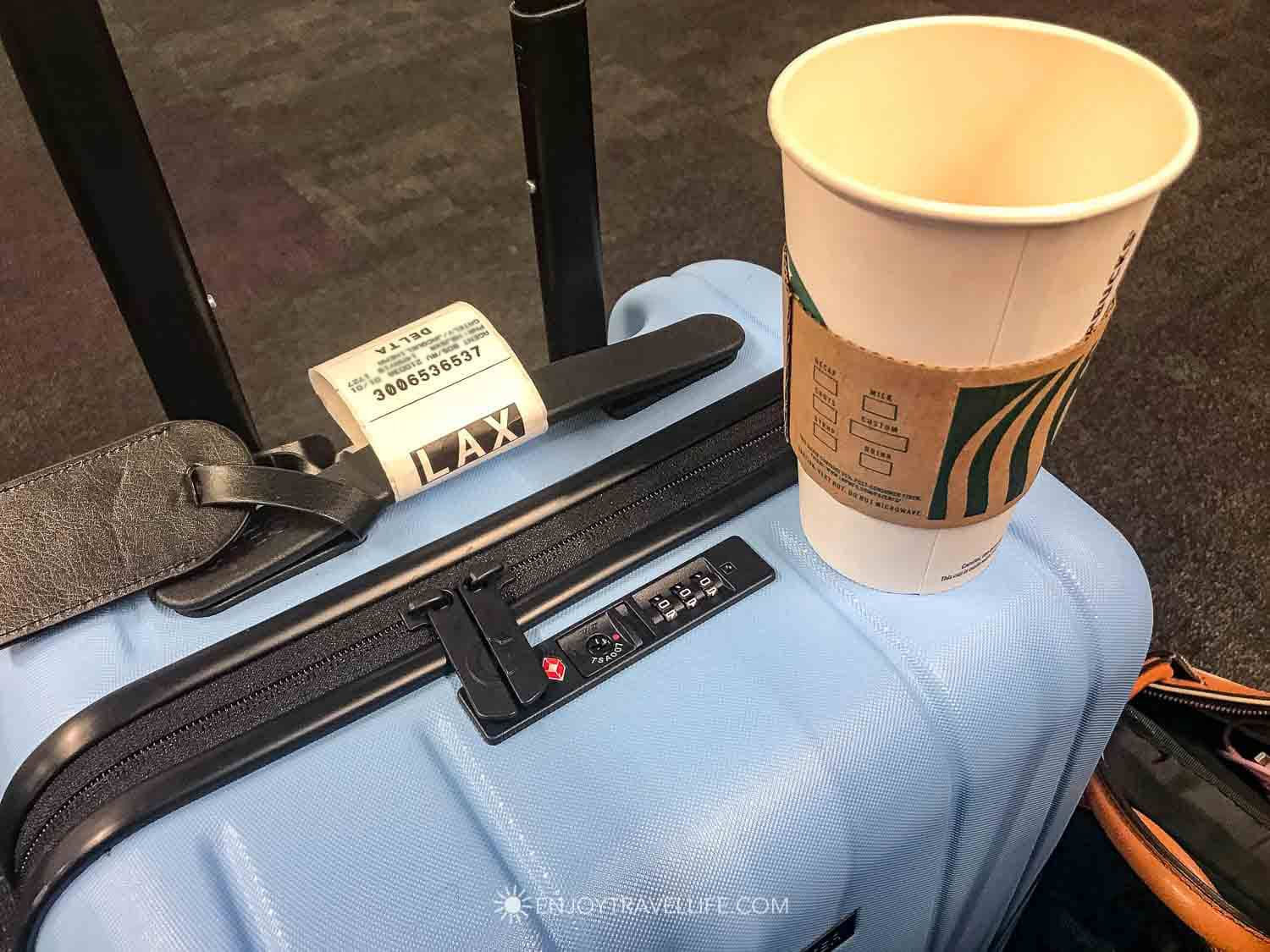 Chester Luggage Review: Minima Carry On and Coffee