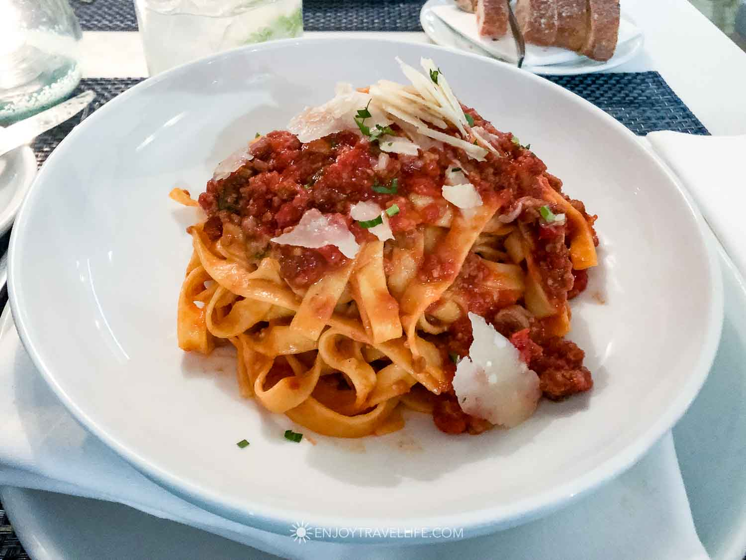 Bolognese in the North End of Boston
