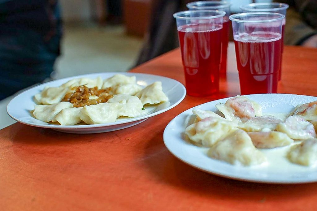 Pierogi - filled dumplings from Poland