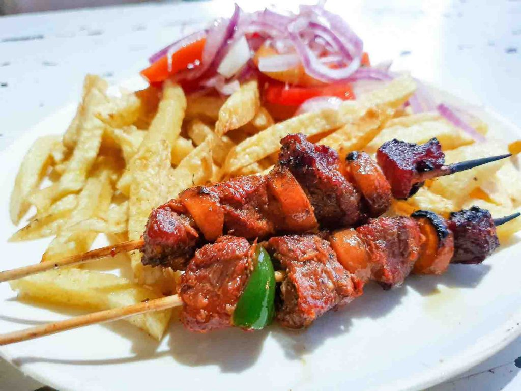Mishkaki skewers from Tanzania