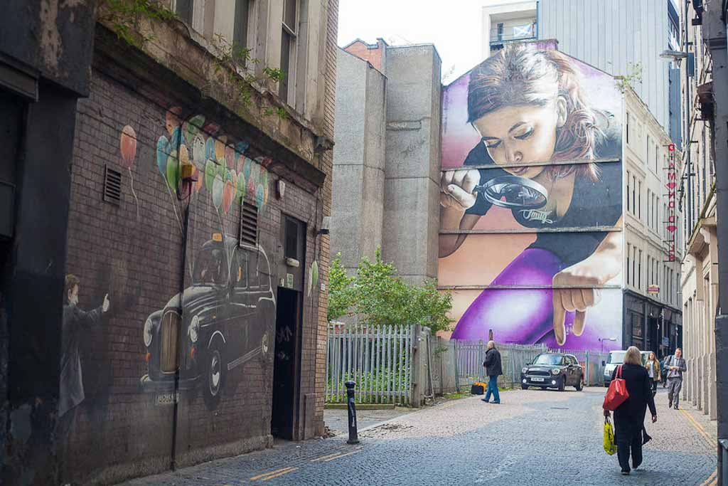 City Centre Mural Trail, Glasgow Scotland