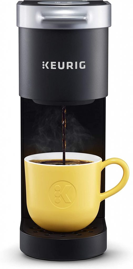 A Keurig K-Mini Coffee Maker, Single Serve K-Cup Pod Coffee Brewer from Amazon.