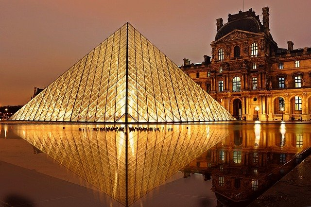 The Louvre, France.