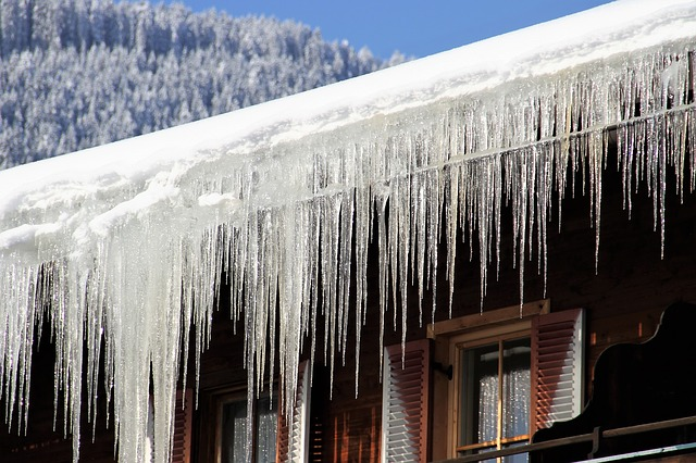 Checklist for Winterizing Your Home: Prevent icicles by cleaning the gutters and insulating (Shown: icicles)