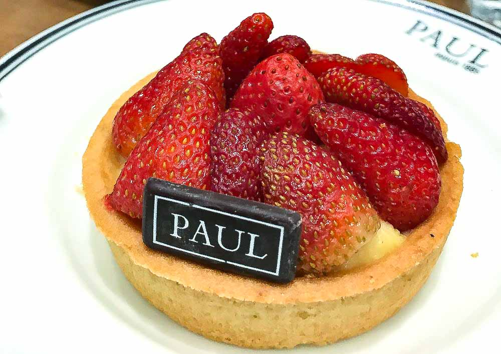 Tarte aux Fraises, best dessert made with strawberry