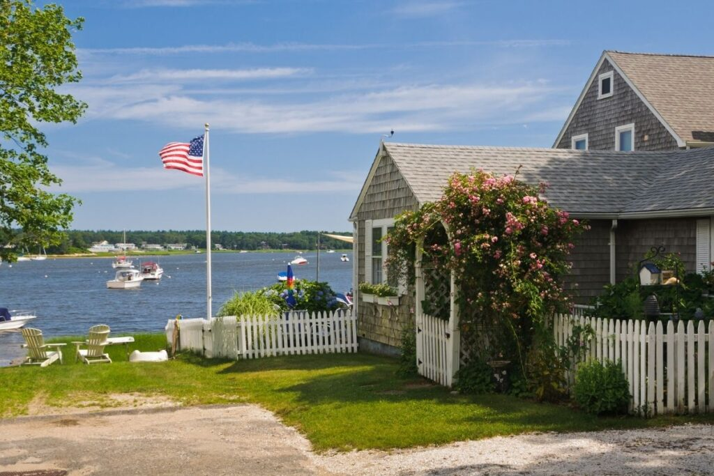 vacation property on Cape Cod