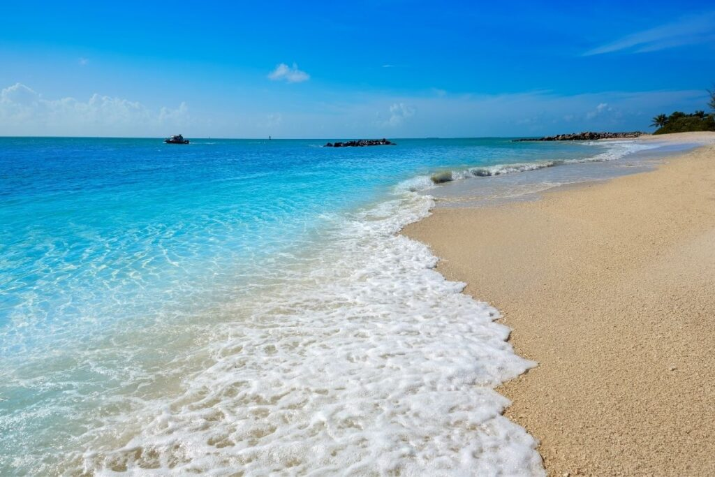 key west vacations for couples - aqua water and beach
