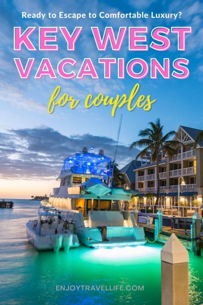 Key West Couples Vacation Pin