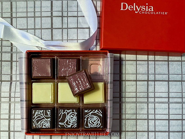 Delysia chocolates - pampering gifts for mom