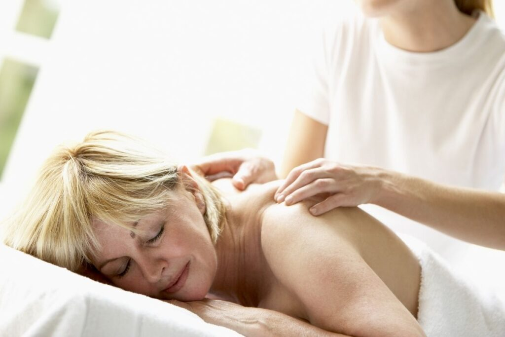 pampering gifts for mom - massage